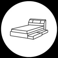 収納付きベッド