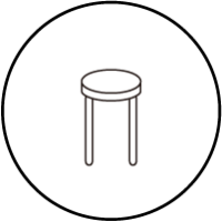 スツール/丸椅子