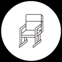 高齢者向け椅子/高座椅子