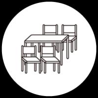ダイニングテーブルチェアセット