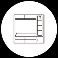 壁面ユニット・収納タイプ